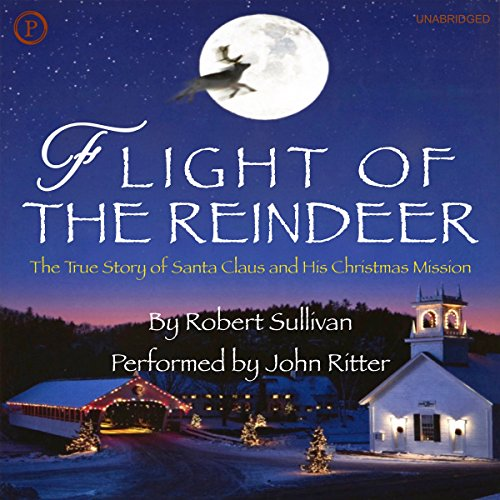 Flight of the Reindeer audiobook cover art