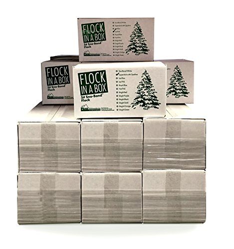Peak Seasons 11105 5 Lbs White Sno-Bond Flock In A Box