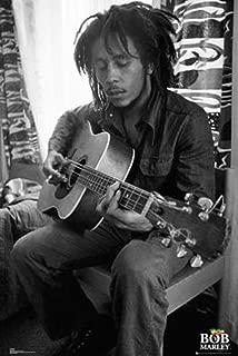 Bob Marley - Guitar Poster (24x36) PSA034002