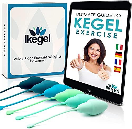 Ikegel Boules de Geisha Avec Exercise Ebook En Francais - Reeducation Perinee Femme - Boule de Geisha Reeducation Perinee - Kegel Ball - Boule Geisha - Muscler perinee