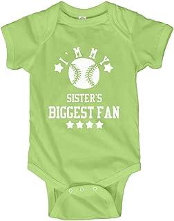 Baby is Sister's #1 Fan: Infant Bodysuit