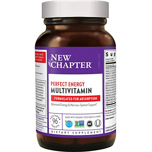 New Chapter Energy Supplement - Perfect Energy Multivitamin for...