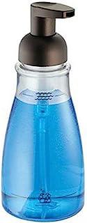 Liquid Soap Dispenser Transparent 7x7x19cm 420ml