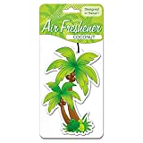 Welcome to the Islands Automobile Car Air Freshner Palm Tree Coconut Scent 2 Packs