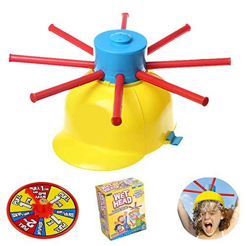 XIOJAE Ruleta Mojada Agua De Ruleta Niños Ruleta Ruleta De Fiesta Broma Ruleta Sombrero De Broma Juegos De Ruleta Creativos para Familias, Niños, Divertidos Juegos Acuáticos para Las Vacaciones