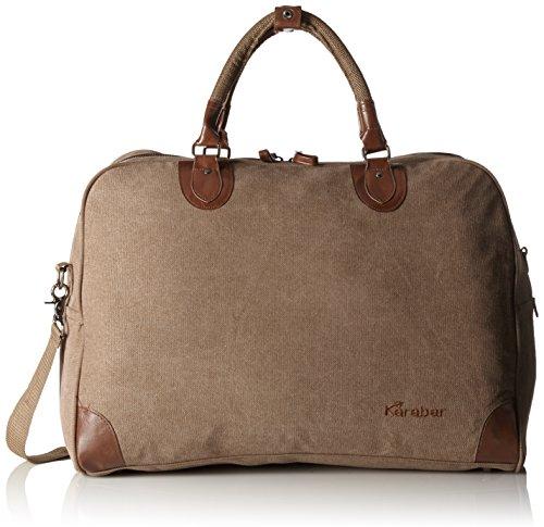 Karabar, accettato come bagaglio a mano, dimensioni: 55 x 40 x 20 cm-Garanzia di 3 anni! Beige Beige Cotton small