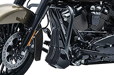 Kuryakyn 6428 Motorcycle Accent Accessory: Precision Regulator Cover for 2017-19 Harley-Davidson Motorcycles, Gloss Black by Kuryakyn