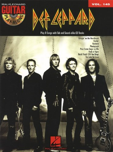 Guitar Play-Along Volume 145: Def Leppard. Für Gitarre, Gitarrentabulatur