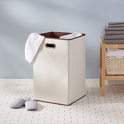 AmazonBasics Foldable Laundry Basket Hamper