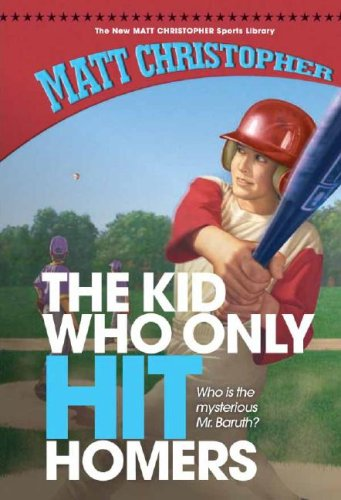 The Kid Who Only Hit Homers (New Matt Christopher Sports Library (Library))