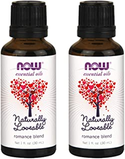 Now Foods Naturally Loveable Oil Blend, 1 Ounce (Pack of 2)