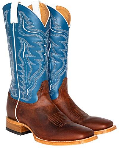 Cody James Men's Stockman Cowboy Boot Wide Square Toe Copper 11.5 D(M) US