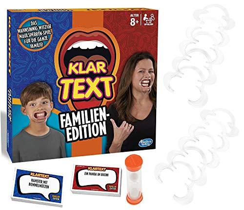 Klartext Familien-Edition, Partyspiel mit Lachgarantie für Klein und Groß, Ab 8 Jahren