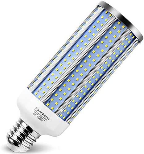 E39 80W LED Corn Light Bulb 800W Equivalent 8000 Lumen 6500K Large Area Cool Daylight White product image