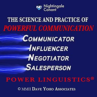 The Science and Practice of Powerful Communication     Power Linguistics              By:                                                                                                                                 Dave Yoho                               Narrated by:                                                                                                                                 Dave Yoho                      Length: 7 hrs and 6 mins     11 ratings     Overall 4.5