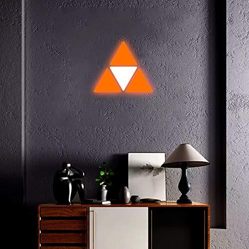 JAKROO RGB LED Farben und Effekte, Rhythmus Musik Synchronisierungstelefon Smart Lighting Panels für Die Wanddekoration Von Häusern Scheinwerfer