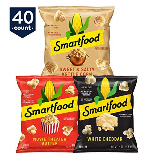 Learn More About Smartfood Popcorn Variety Pack, 40 Count (2 Packs(40 Count))