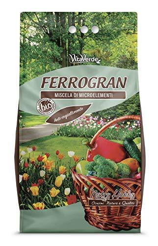 FERROGRAN, solfato di ferro granulare, kg 5