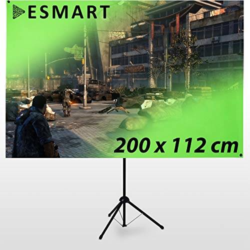 eSmart Germany X-Type Ultralightweight Greenscreen 200 x 112 cm | 90