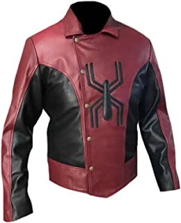 Men's Fashion Spider Leather Jacket