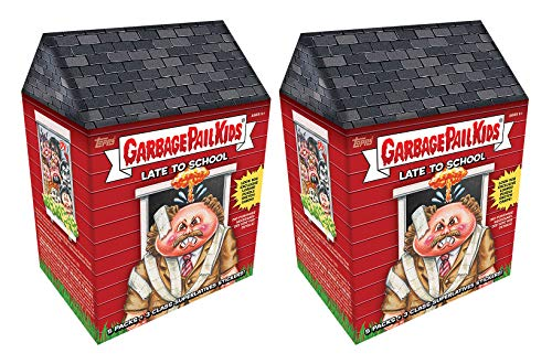 Garbage Pail Kids 2-Pack Topps GPK Late to School Trading Cards Value Blaster Box