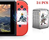 Zelda-Karte, 24 NFC-Karten für The Legend of Zelda Breath of The Wild Botw Switch Wii U