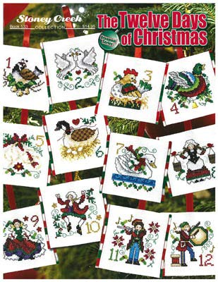 Twelve Days of Christmas Cross Stitch Pattern