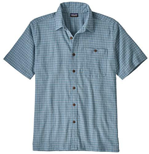 Patagonia M's A/C Shirt Haut Homme, Bleu (Cultivator: Pigeon Blue), XXL