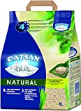 Catsan Natural  Litire agglomrante compostable pour Chat  100% en Fibres vgtales