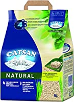 Catsan natural cat litter is made from wheat. 100% natural, clumping litter made from pure plant fibres. 100% biodegradable. Cat sand with highly effective odour neutralisation. Locks odours immediately. Extra absorbent clumping litter - quick and fi...