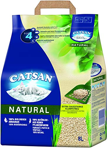 Catsan natural lettiera biodegradabile e agglomerante