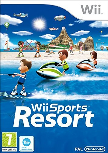Wii Sports Resort inkl. Wii Motion Plus - UK (Wii) Z2 lose