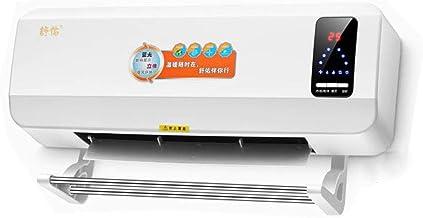 Daxiong Calefacción a Distancia, Calentador de Pared Ajustable, baño Calefactor, Pequeño acondicionador de Aire con Pantalla Digital