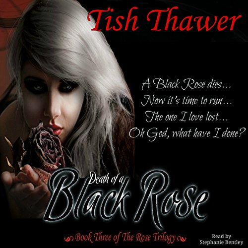 Death of a Black Rose audiobook cover art