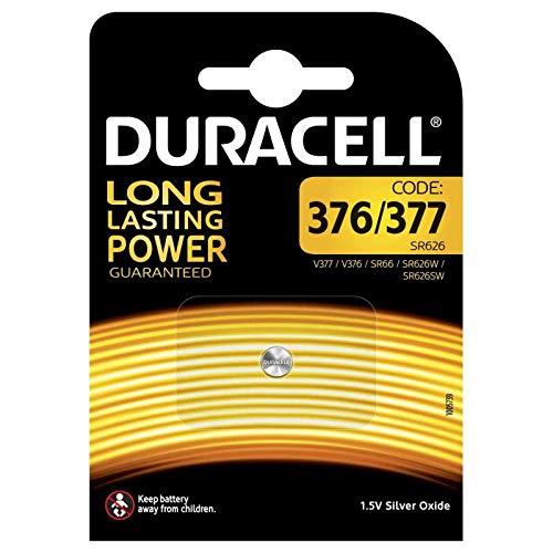 DURACELL Duracell pile bouton type 377 1er Blister 1,55V Silberoxid