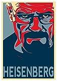 Instabuy Poster Propaganda - Breaking Bad Heisenberg - A3