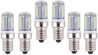 SGJFZD E14 LED Light Bulb 12V AC/DC 10-20V 3W 220 Lumen 57PCS 3014 SMD Explosion Proof, Non-Dimmable, E14 Light Bulbs (6PC...