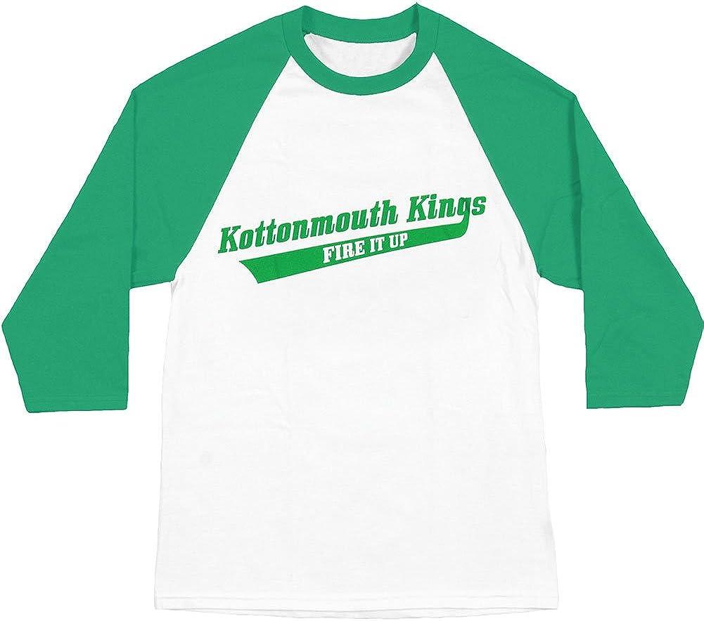 Kottonmouth San Francisco Mall Kings Men's 4:20 Baseball Jersey Store Whi