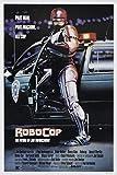 tzxdbh Robocop Movie Poster (1987) Seda Poster Pintura Decorativa Pulgadas50X60