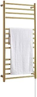 YIDTO Contemporary Straight Bathroom Heated Towel Rail Radiator Minimalist Bathroom Flat Panel Heated Towel Rail Radiator Perfect for Bathrooms