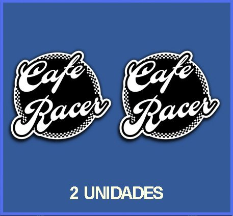 Ecoshirt B1-MB3Q-IXBQ Pegatinas Stickers Cafe Racer Ref: Dp16 Aufkleber Autocollants Adesivi Moto Decals, 5 cm