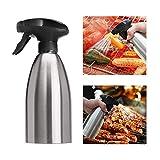 TOOGOO Olive Oil Sprayer Vinegar Sprayer Dispenser Stainless Steel Bottle-Perfect Portable Seasoning Spice