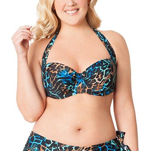 Smart & Sexy Plus Size Convertible Bandeau Bikini Top