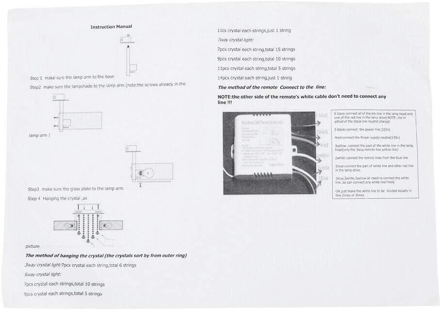Beleuchtung Kronleuchter sumicorp.com Energieklasse A++ Wangkangyi ...