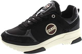 Colmar Travis S-1 - Fury 138, Sneakers Donna Casual, Lacci, Black, Nero, Woman