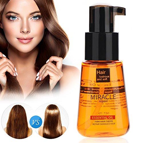 L'huile de cheveux de noix de Monaco, essence de croissance de cheveux, masque normal de soin de cheveux d'argan épifient les soins bouclés de perte de cheveux