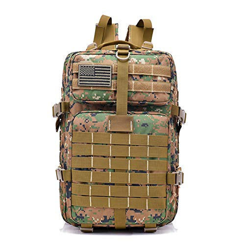 GXCX Multifunctional Sports Backpack, Large Capacity Outdoor Mountaineering Bag, Tactical Camouflage, Suitable for Outdoor Sports 2
