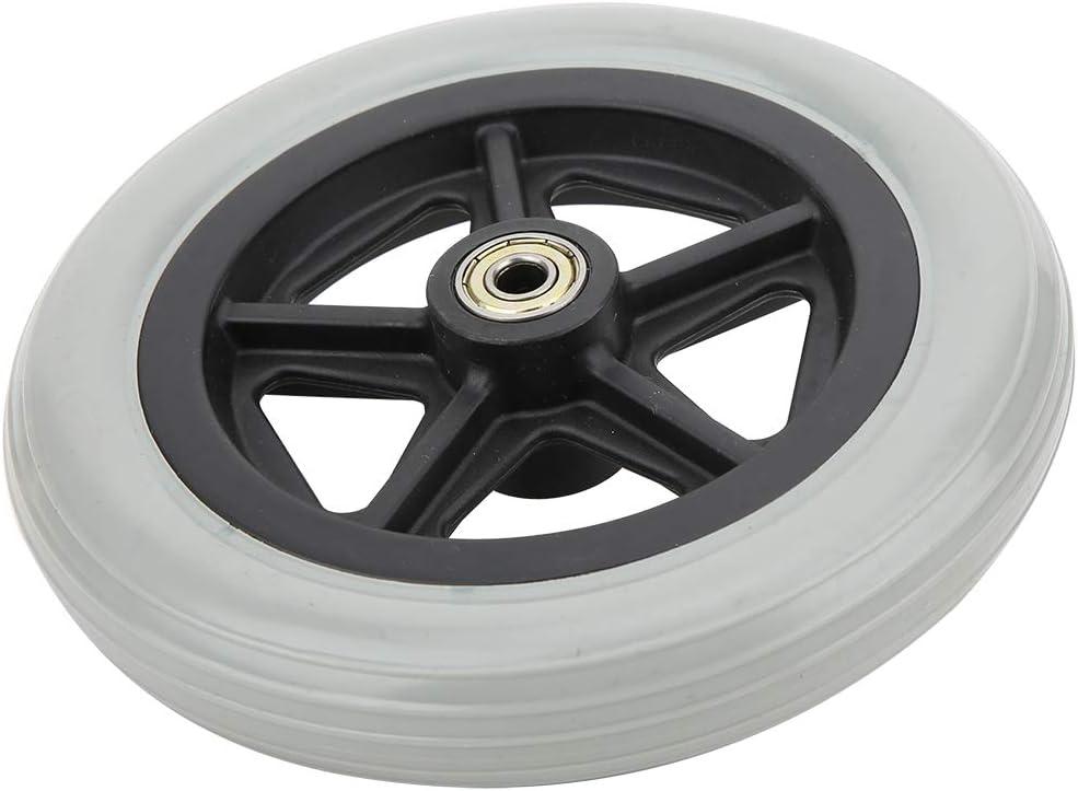 Wheelchair Wheels, Wear 7 in Wheelchair Rubber Wheels, for Disab