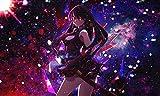Póster de Akame Ga Kill Akame Anime Print de 30,5 x 45,7 cm (Multicolor)