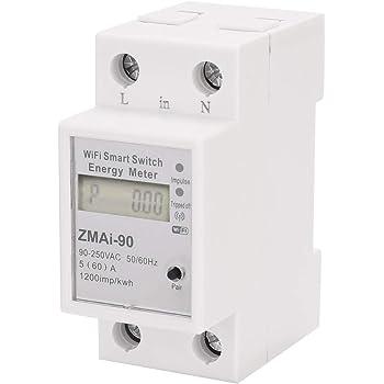 A 30 POPP/® Electric Contador Medidor de Energ/ía Carril DIN Monof/ásico 1P230V 5 DDS9588